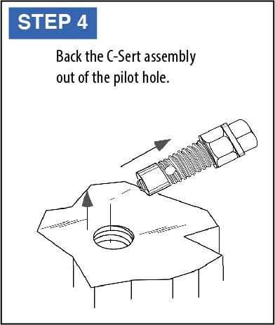 C-Sert Installation Instructions step 4
